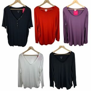 5 Item Lot Isabel Maternity Tops And Sweater XXL